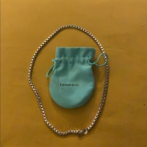 Tiffany's silver Venetian necklace